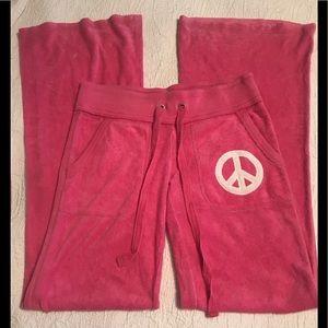 Victoria's Secret Pink ☮️ pink wide leg pants